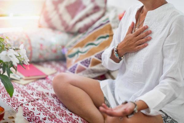 Atemtechnik Ujjayi Atem Yoga Vinyasa Yoga mit Tanja